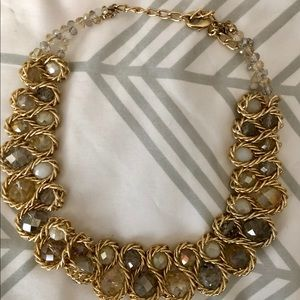 Gorgeous collar beaded statement necklace!